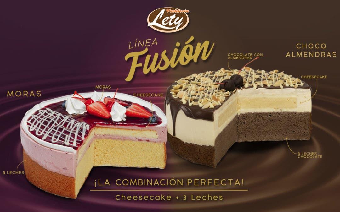 ¿Ya conoces la nueva línea Fusión de Pastelería Lety?