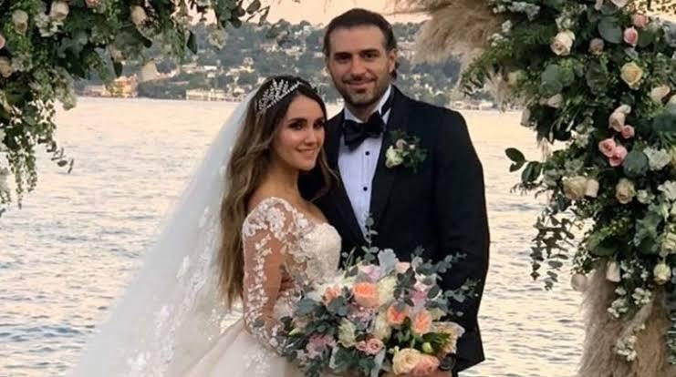Dulce María comparte imágenes inéditas de su boda