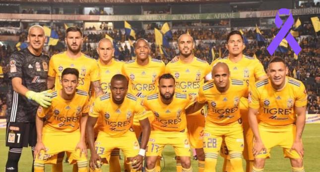 El Club de futbol Tigres se suma a #UnDíaSinNosotras