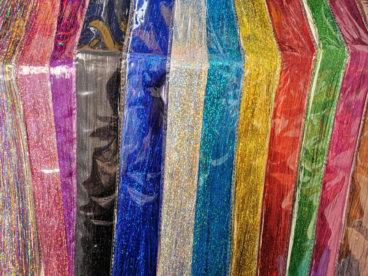 Foto: Especial de variedad de colores para la técinca de Glitter Hair.