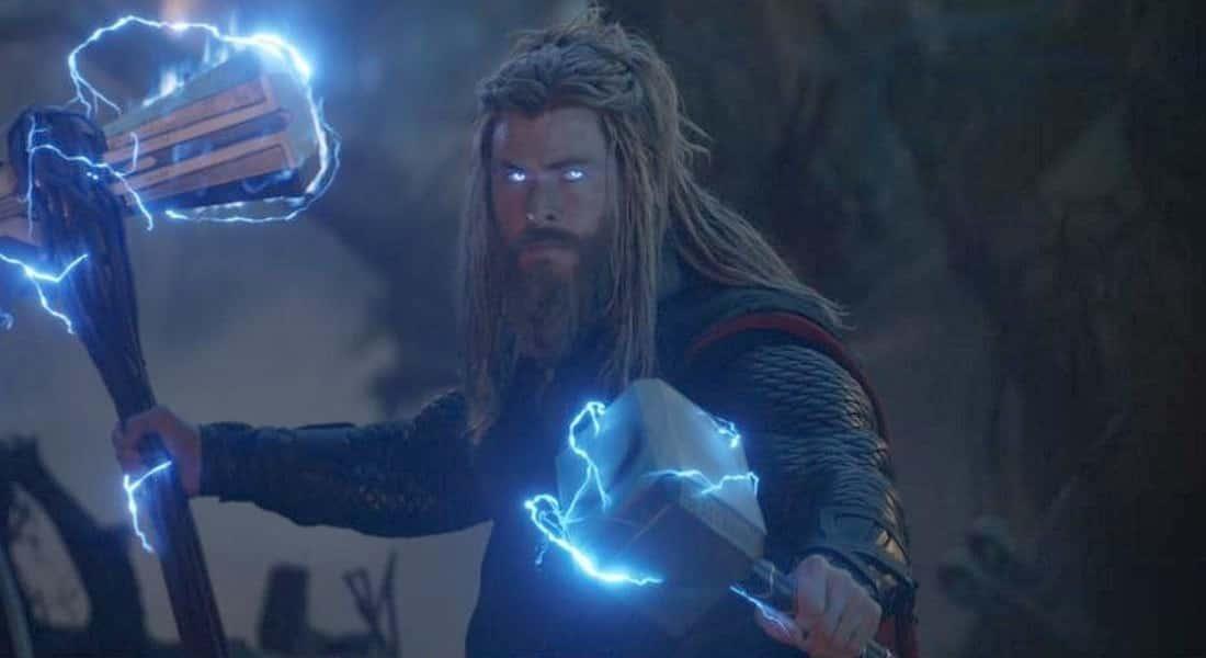 Thor en Avengers Endgame.