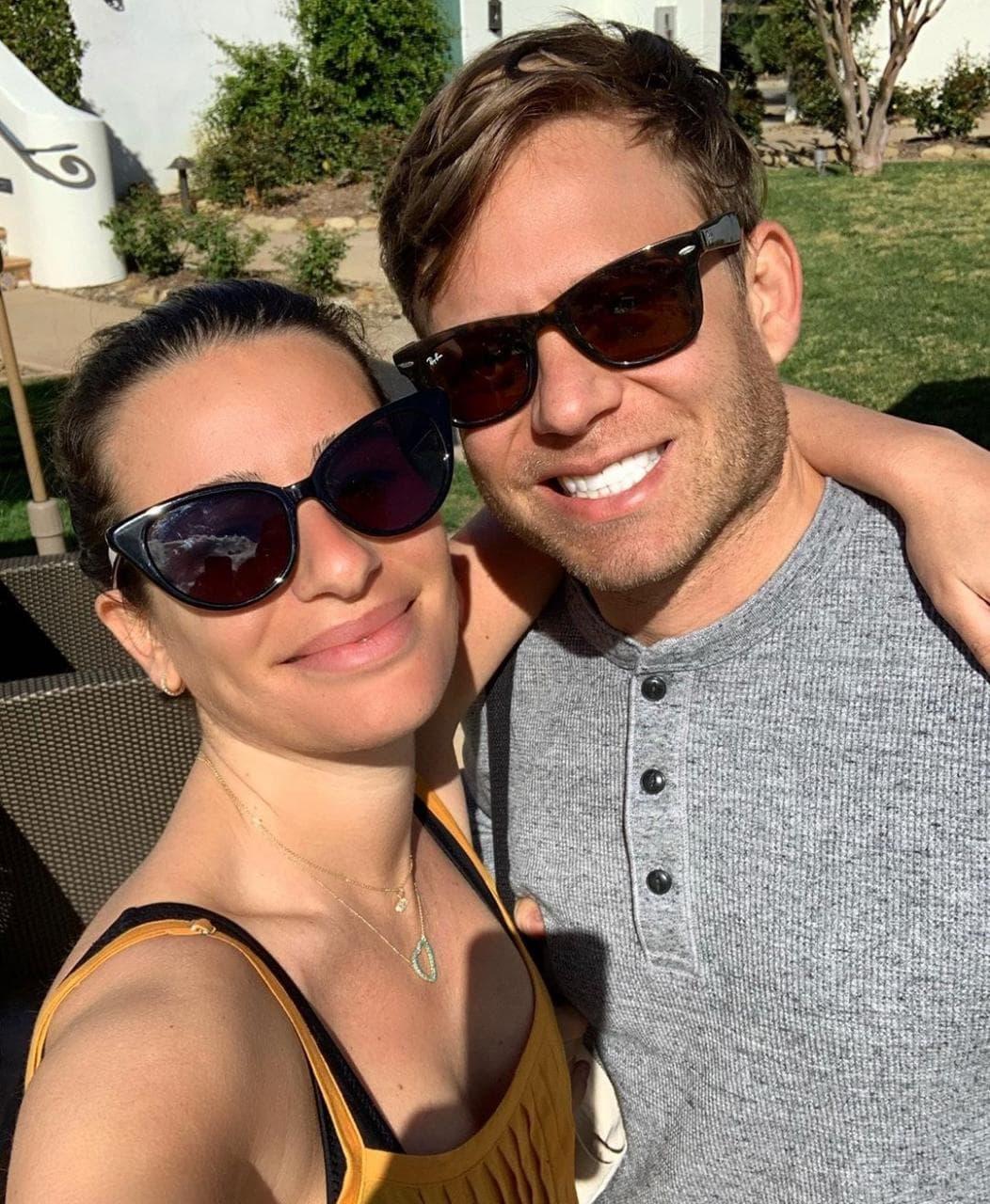 Lea Michele se encuentra en la espera de su primer bebé