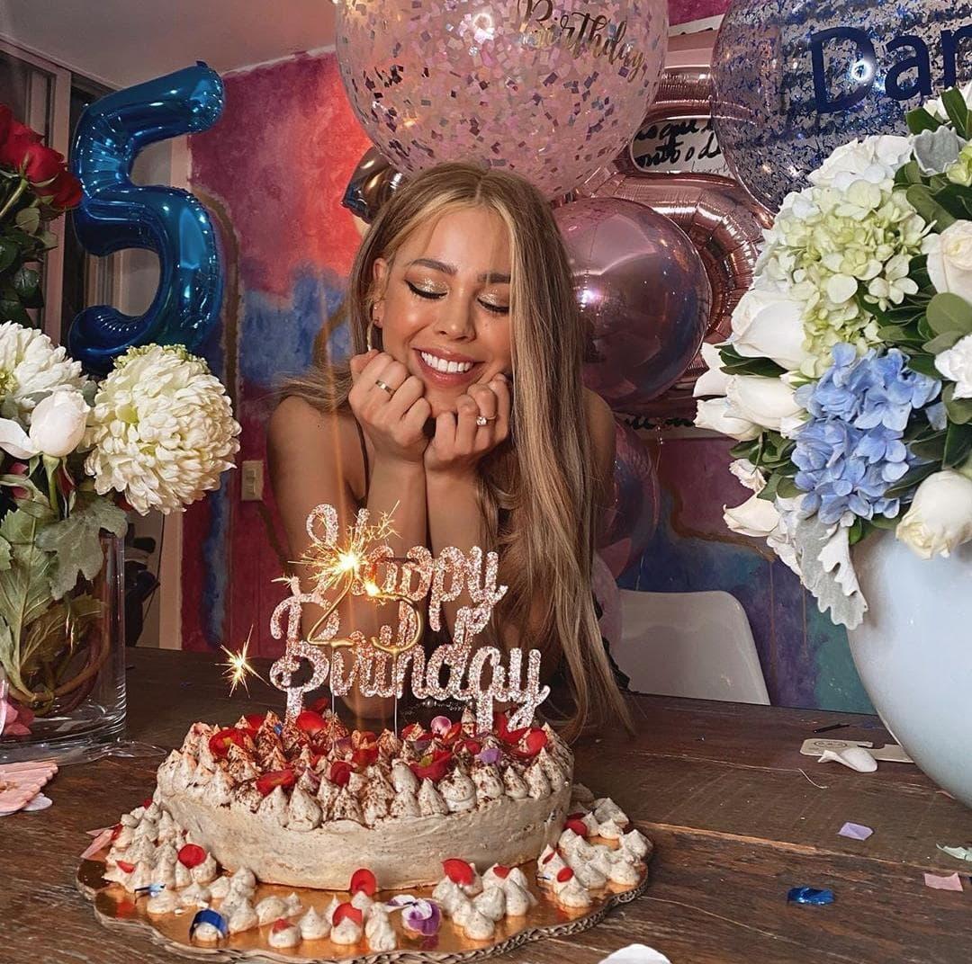 Danna Paola celebró su cumpleaños número 25.