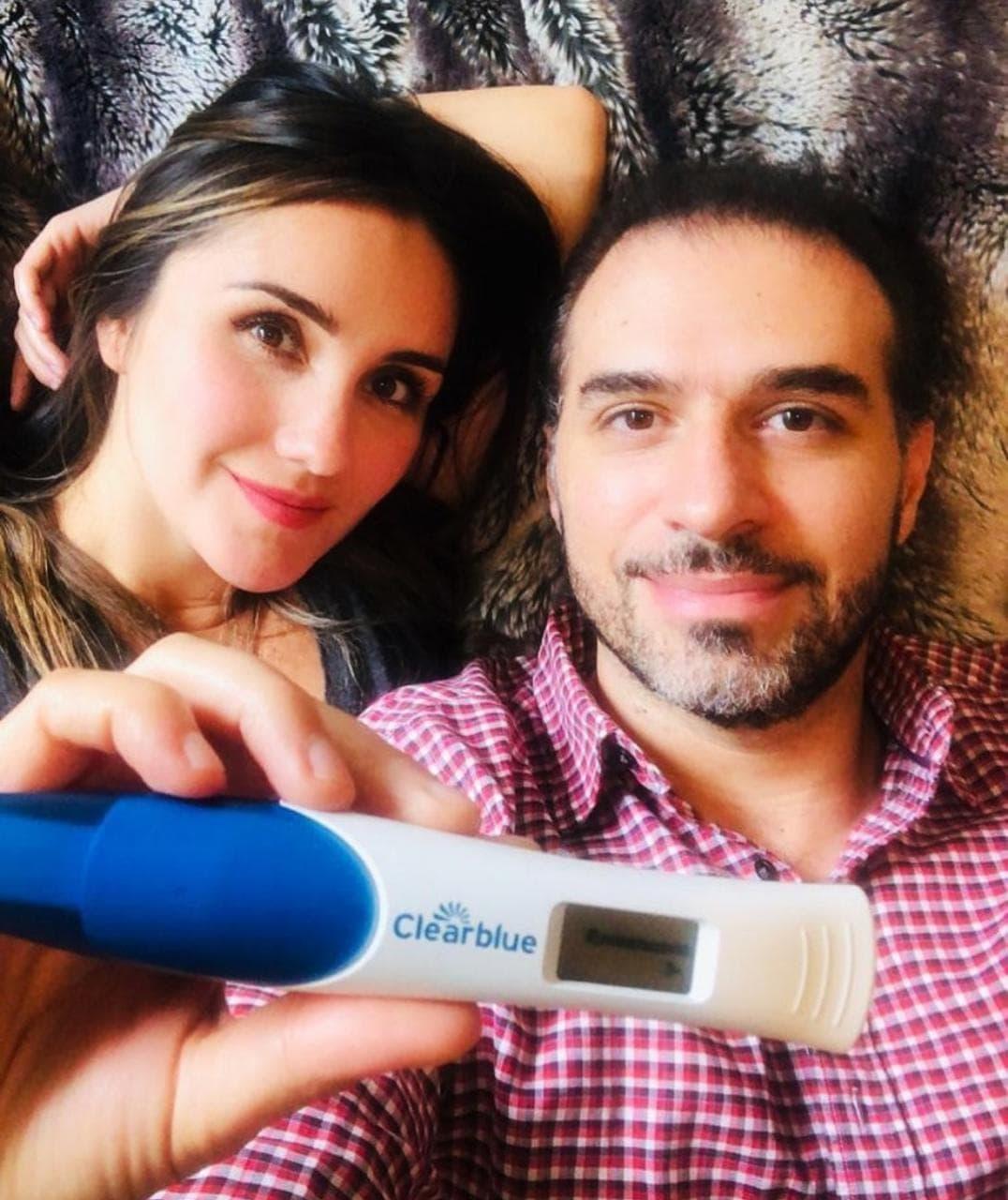Dulce María comparte como vive su etapa de embarazo