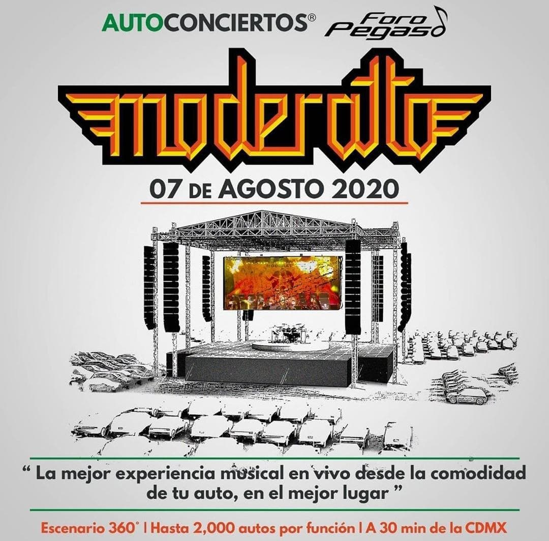 Moderatto ofrecerá un auto-concierto