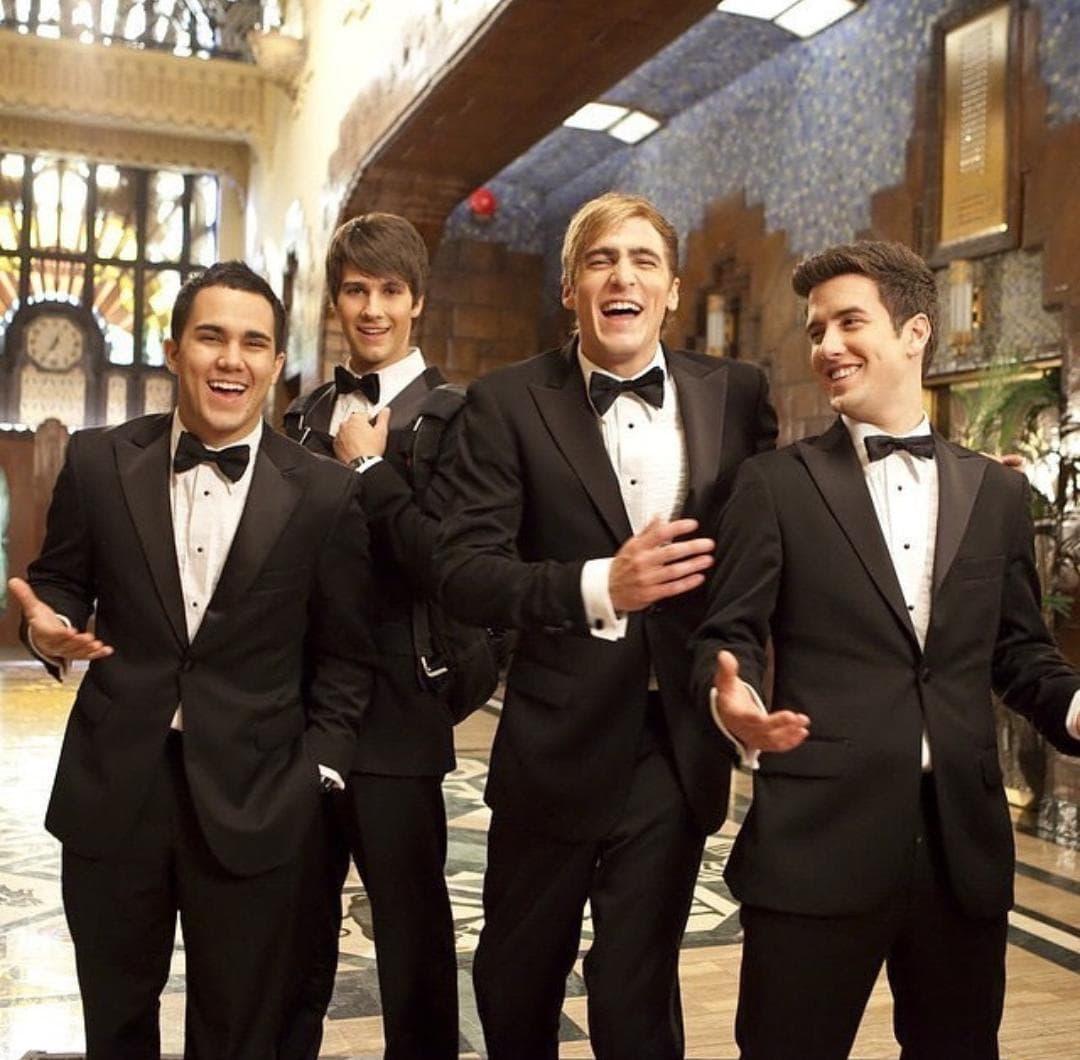 Big Time Rush sorprende al interpretar sus éxitos