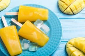 ¡Llego el verano! Prepara una riquisíma paleta de mango
