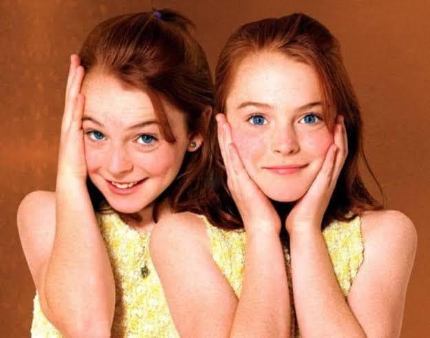Lindsay Lohan se reuné con el elenco de `Juego de Gemelas´ 22 años después.