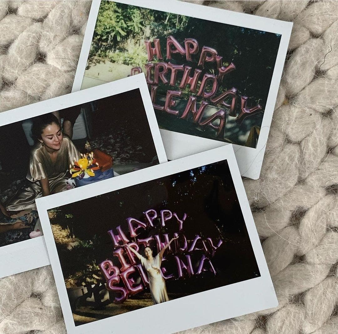 Selena Gomez celebró su cumpleaños número 28.