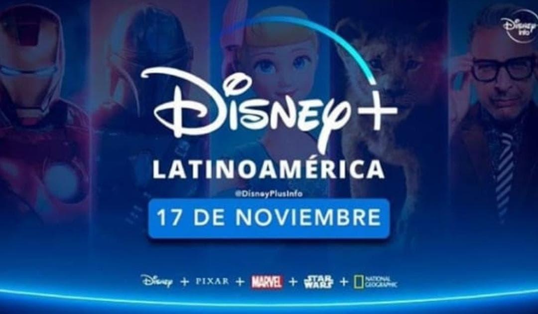Disney+ estará disponible en México.