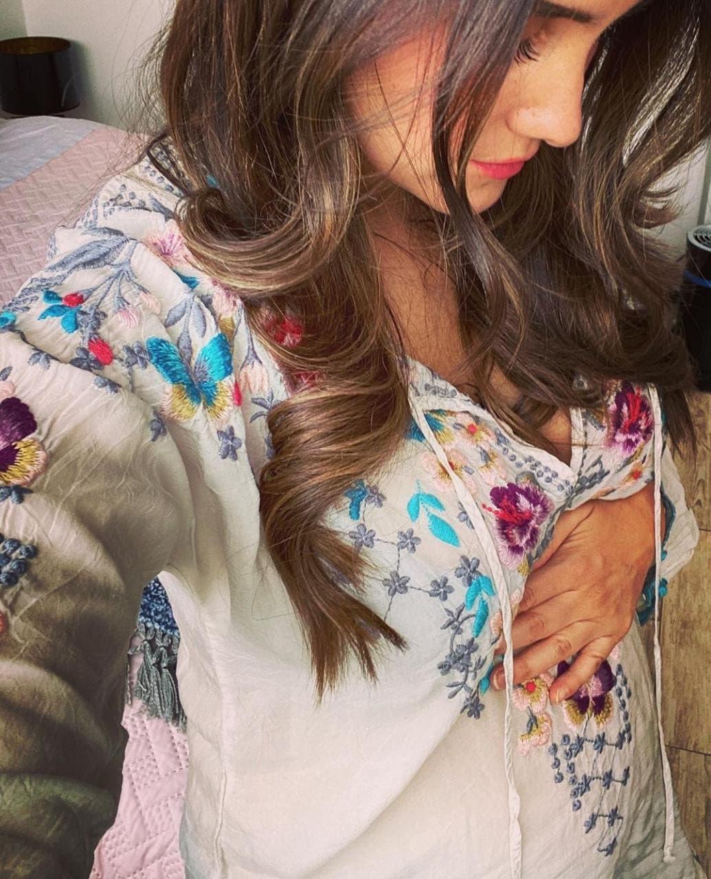 La cantante y actriz mexicana se convertirá en madre.