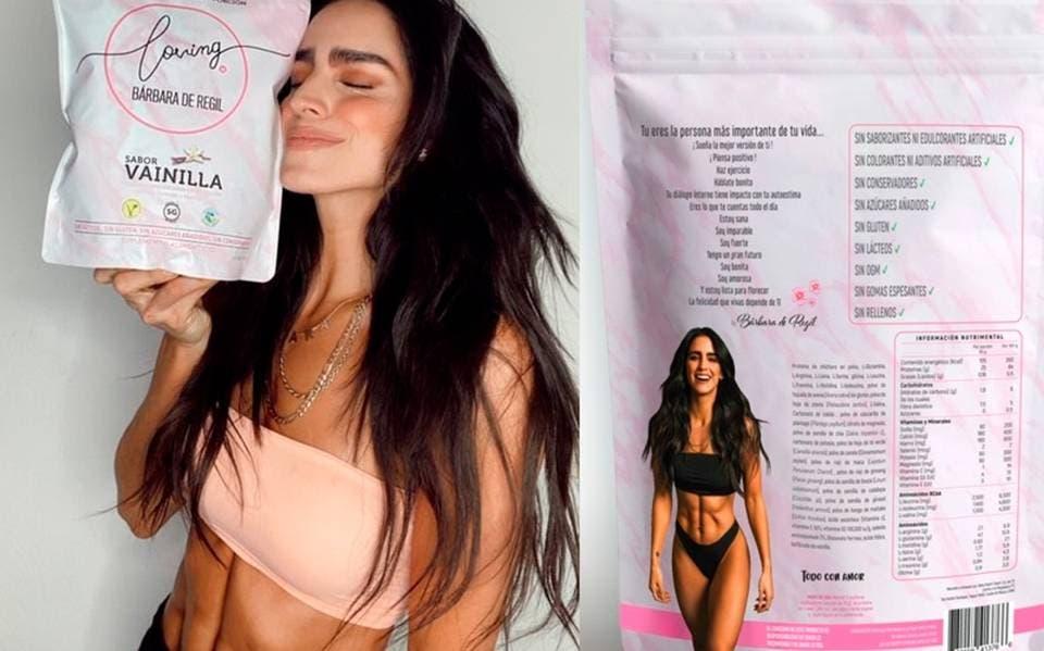 Loving it, proteína de Bárbara de Regil